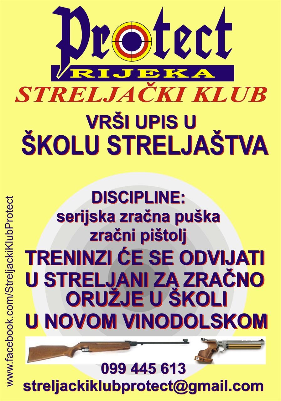 Upisi u školu streljaštva Novi Vinodolski